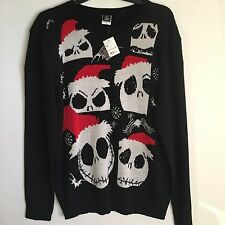 Disney Nightmare Before Christmas Sweater Size XXL Jack Skellington NWT