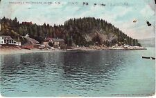 Canada Quebec Pointe au Pic - Rocher le Pic 1910 mailed postcard