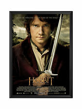 """Movie Poster Frame -Black 27""""x40"""" - Front Opening Professional Snap Frame Series"""