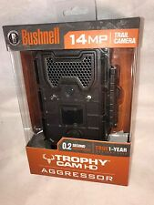 Bushnell 119774C Trophy Cam Aggressor HD Low Glow Infrared Camera 14MP Brown NEW