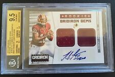 #/49 Robert Griffin III BGS 9.5 GEM MINT Rookie Gridiron Gems Auto RC
