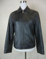 Superweiche schicke MONTEGO Nappa Leder Jacke Echtes Leder schwarz Gr. 36