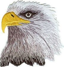 Noble Bald Eagle Bird Patch USA National Animal America Craft Iron-On Applique