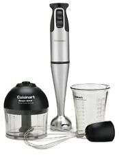 Hand Blender Mixer Smart Stick Wisk Chopper Grind Brushed Stainless Steel 200W