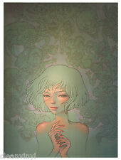 Audrey Kawasaki Untitled unframed zine page = Frame it any way you want!