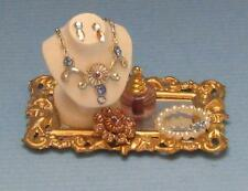 Miniature Dollhouse 1:12 Scale JEWELRY TRAY WITH BUST - JK031