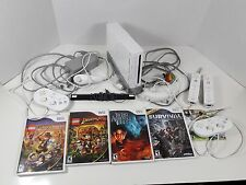 Wii console bundle 8 games Family Game Night Wii Sports Super Mario Bros Airbend