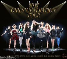 SNSD Girls' Generation - 2011 GIRLS' GENERATION TOUR [2CD+60p Photobook] + GIFT