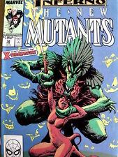 The New Mutants n°72 1989 ed. Marvel Comics  [G.148]