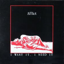 AFFLICT · I want it, I need it  LP Vinyl  (Dissonance Records 1989)