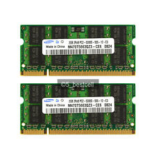 NEW Samsung Pair 4GB 2X2GB PC2-5300 DDR2 667Mhz PC5300 200pin Laptop Memory Ram