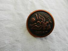 un bouton militaire américain US 2ème guerre