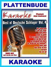 Karaoké CD jusgu udo von Gabi attend dans le parc Best of Deutsche schlager vol.4