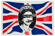 PUNK: Sex Pistols * God Save The Queen * Promo Poster