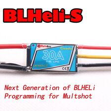 4pcs BLHELI-S 8BB2 30A 2-4S Multishot ESC for Oneshot125/42 Multirotor