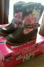 Hello Kitty Lil Nicole Cowgirl Boots - Size 6