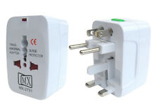 MX Universal Worldwide Travel Adapter Surge Protector For 150 Countries-MX 2731