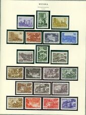 RUSSIA : 1947-48. Scott #1162-1236 Complete except for Imperfs. VF MNH. Cat $421