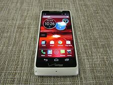 Motorola Droid RAZR M - 8GB - White (Verizon) CLEAN ESN WORKS 10574