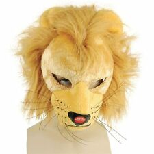 LION ADULT WILD #ANIMAL MASK WITH SOUND BOOK WEEK FANCY DRESS OUTFIT ACCESSORY