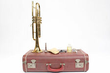 Vintage King H.N White Cleveland Superior Trumpet USA w/ Case & Accessories