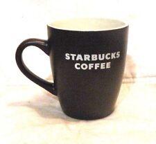 Vintage Rare Starbucks 2010 Collectors Coffee Mug Cup Mocha Brown/ White 12 OZ