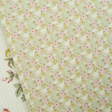 Tilda Happiness is Homemade Zoe Light Green fabric / quilting rose floral