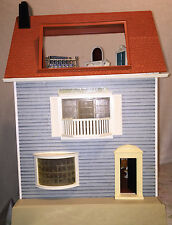 Vintage Fisher Price 1977 Large Doll House Dollhouse Furniture & Family