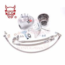 "Turbo CHRA Kit w/ Actuator TD05H-20G + 3"" Cover For 4G63T EVO3 DSM VR4 Bolt-On"