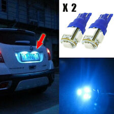Aqua Blue 5 LED Car License Plate Tag Light Bulb (1 pair) Hs-w1