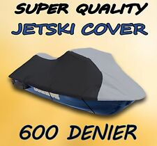 600 DENIER Honda F12X  Aquatrax 2002-2007 Jet Ski Watercraft Cover Grey/Black