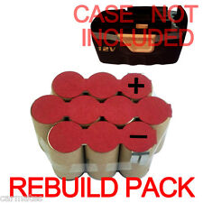 Battery Repacking refilling Pack For GMC 12V 1G12B 3G12B 2.0Ah Ni-CD High Rate