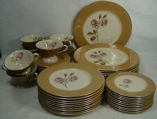 FINE ARTS China MISSION ROSE pattern 49-pc SET SERVICE for 10 (-1 dinner)
