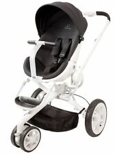 Quinny Moodd Auto Unfold Single Baby Stroller Black Irony Mood NEW SAME DAY SHIP