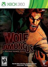 Xbox 360 The Wolf Among Us Video Game interactive adventure story bigby wolf