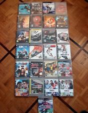 LOT 25 JEUX PS3 IRON MAN 2 SPIDER MAN NARNIA CARS VANQUISH BRINK PES NBA FIFA