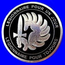 RARE ELITE FRENCH FOREIGN LEGION 2e REP COMMANDOS SPECIAL FORCES COIN