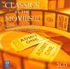 VARIOUS ARTISTS - CLASSICS AT THE MOVIES II 2CD -BRAND NEW AND SEALED