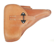 WWII GERMAN LEATHER WALTER P38 P-38 HARDSHELL HOLSTER BROWN-34064