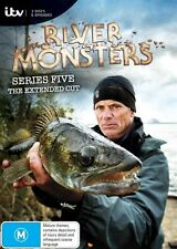 River Monsters: Season 5 DVD Region 4 Jeremy Wade New & Sealed