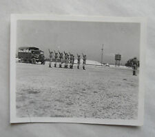 Vintage 40s/1948 B/W Photograph. British Soldiers on Guard in Malaya District #4