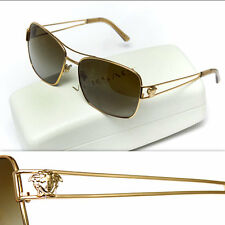 $460 GIANNI VERSACE Men's GOLD MEDUSA SUNGLASSES