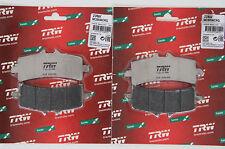 Trw plaquette MCB 858 crq CARBON KTM rc8, super Duke 1290r avant front brake pad