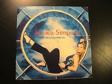 Jessica Simpson I THINK I'M IN LOVE WITH YOU Euro 2-trk CD Single Cardboard PS