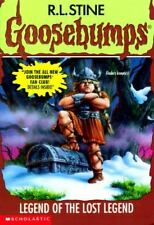 Legend of the Lost Legend (Goosebumps #47) by R. L. Stine, Good Book