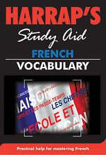 Harraps French Vocabulary (Harraps French Study Aids),