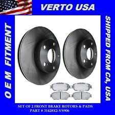 Set of 2 Brake Rotors & Pads- Front   fits 05-15 Toyota Tacoma  31428X2-VS906