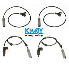 For BMW E36 323i 328i 325i 325is FRONT + REAR WHEEL ABS SPEED SENSOR SET 4PC