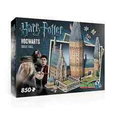 WREBBIT 3D JIGSAW PUZZLE HARRY POTTER HOGWARTS GREAT HALL 850 PCS  #W3D-2014