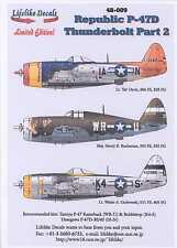 Lifelike Decals 1/48 REPUBLIC P-47D THUNDERBOLT Part 2